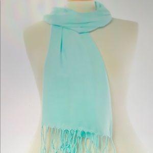 🔥2/15🔥 Ashley Cooper Solid Pashmina-Style Shawl